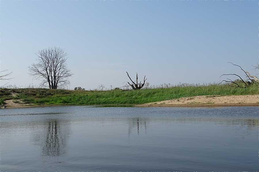Kurzurlaub Flusslandschaft am Oder-Neisse Radweg